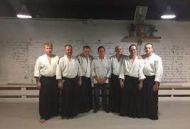 Наши инструкторы айкидо повысили свой уровень
