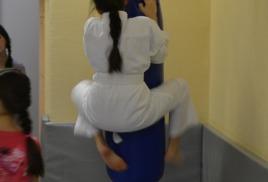 Утренние тренировки по айкидо для детей